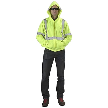 Mutual Industries Lime ANSI Class 3 Hoodies