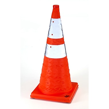 Mutual Industries Collapsible Traffic Cone, 28