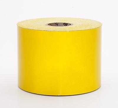Mutual Industries Pressure Sensitive Retro Reflective Tape, 4