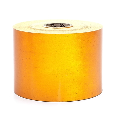 Mutual Industries Pressure Sensitive Retro Reflective Tape, Orange