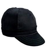 Mutual Industries Kromer A250 Twill Style Hard Bill Cap, Black, One Size