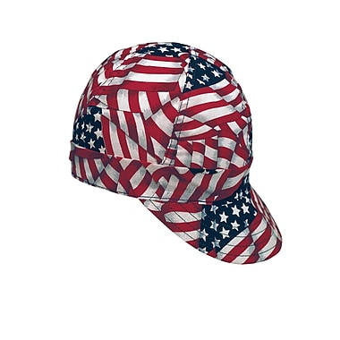Mutual Industries Kromer A336 USA Flag Style Hard Bill Cap, One Size