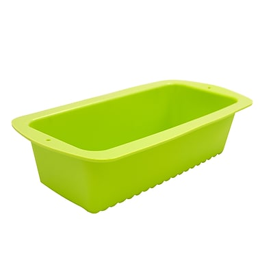 Marathon Management Silicone Loaf Pan, Green