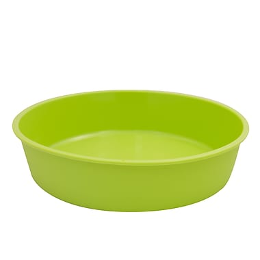 Marathon Management Silicone Round Cake Pan, Green