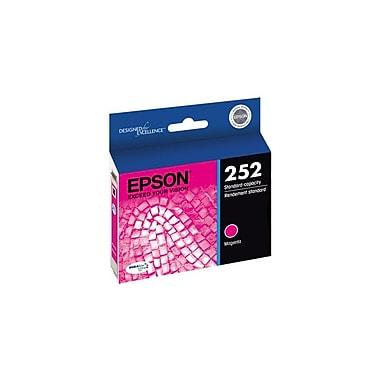 Epson 252 Magenta Ink Cartridge, Standard Capacity (T252320)