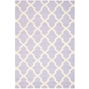 Safavieh Zoey Cambridge Lavander/Ivory Wool Pile Area Rugs