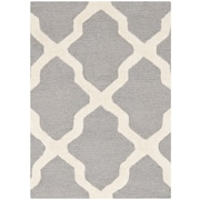 "Safavieh Cambridge Area Rug, 24"" x 36"", Silver/Ivory (CAM121D-2)"