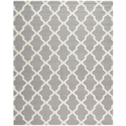 "Safavieh Cambridge Area Rug, 91"" x 115"", Silver/Ivory (CAM121D-810)"