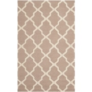 "Safavieh Cambridge Area Rug, 60"" x 96"", Beige/Ivory (CAM121J-5)"