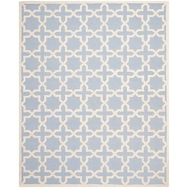 Safavieh Trinity Cambridge Wool Pile Area Rug, Light Blue/Ivory, 8' x 10'