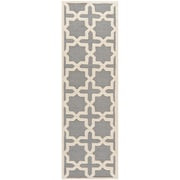 Safavieh Trinity Cambridge Silver/Ivory Wool Pile Area Rugs