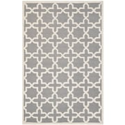 "Safavieh Cambridge Area Rug, 60"" x 96"", Silver/Ivory (CAM125D-5)"