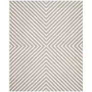 Safavieh Tabith Cambridge Wool Pile Area Rug, Silver/Ivory, 8' x 10'