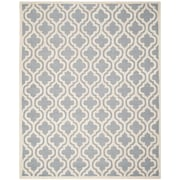 "Safavieh Cambridge Area Rug, 96"" x 120"", Silver/Ivory (CAM132D-8)"