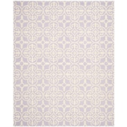 Safavieh Quinn Cambridge Wool Pile Area Rug, Lavender/Ivory, 8' x 10'