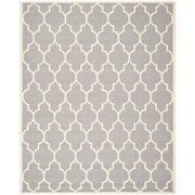 "Safavieh Cambridge Area Rug, 96"" x 120"", Silver/Ivory (CAM134D-8)"