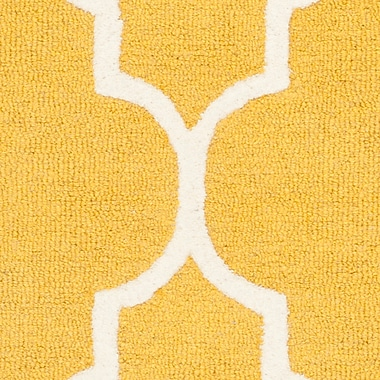 Safavieh Penelope Cambridge Wool Pile Area Rug, Gold/Ivory, 2' 6