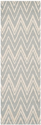 Safavieh Helen Cambridge Wool Pile Area Rug, Gray/Ivory, 2' 6