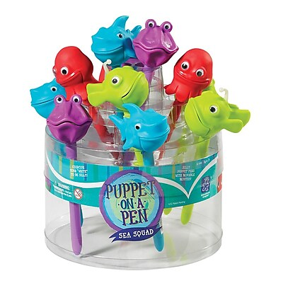 Educational Insights® Sea Squad Puppet-on-a-Pen, 24/Pack
