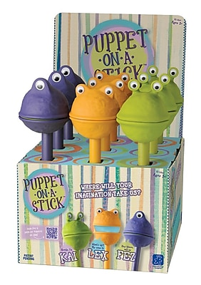 Educational Insights® Puppet-On-A-Stick Pop Display, 9/Pack