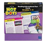Educational Insights® Hot Dots® Reading Informational Text Card Set, Grade 1-3