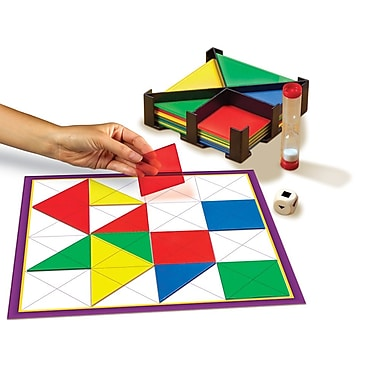 Educational Insights® New Version Shapes Up Game, Grades 3-7