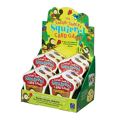 Educational Insights® The Sneaky Snacky Squirrel Card Game, Grades PreK+, 8/Pack