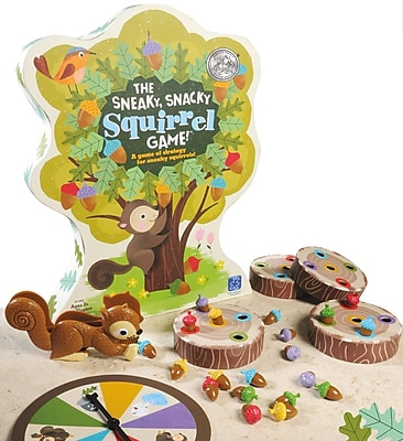 Educational Insights® The Sneaky Snacky Squirrel Game, Grades Pre-K+