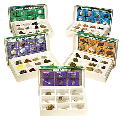 Educational Insights® Complete Rock/Mineral/Fossils Collection