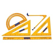 Learning Resources® Plastic Demonstration Geometry Tool Set