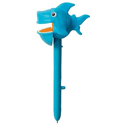 Educational Insights® Puppet-on-a-Pen™ The Sea Squad™ Party Pack, Blue Shark