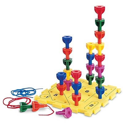 Learning Resources® Rainbow Peg Play™ Activity Set