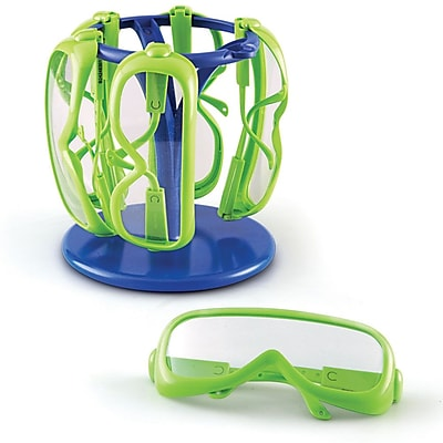 Learning Resources® Safety Glasses With Stand, 6/Set
