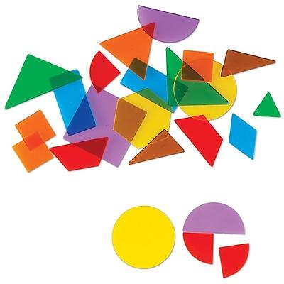 Learning Resources® Translucent Geometric Shapes, 408/Set