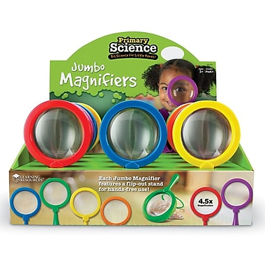 Learning Resources - Grandes loupes Primary Science, 12/paquet