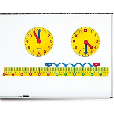 Learning Resources® Magnetic Elapsed Time Set