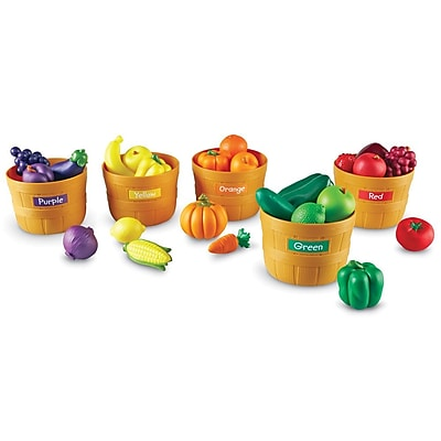 Learning Resources® Farmer's Market Color Sorting Set
