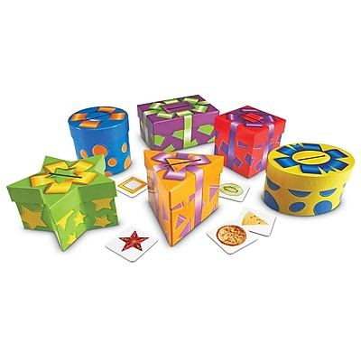 Learning Resources® Shape Sorting Imaginative and Pretend Play Presents, Grades PreK+