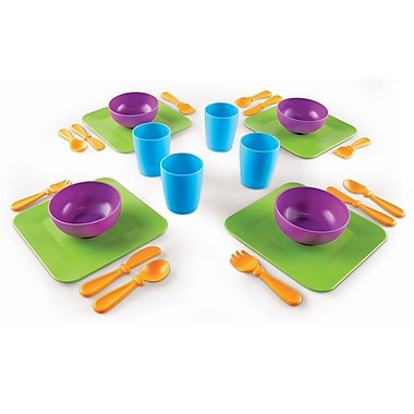 Learning Resources® New Sprouts® Serve it! My Very Own Dish Set