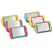 """Learning Resources All About Me 4"""" x 6"""" 2 In 1 Mirror Set"""