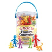 Learning Resources® All About Me Family Counters, 72/Set