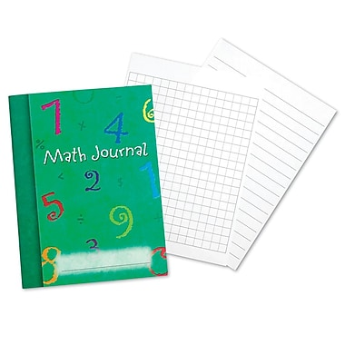 Learning Resources® Math Journal Set, Grades 1+