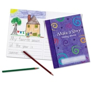 Learning Resources® Make a Story Writing Journal, 10/Set