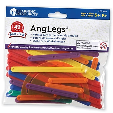 Learning Resources® AngLegs Smart Pack, 49/Set