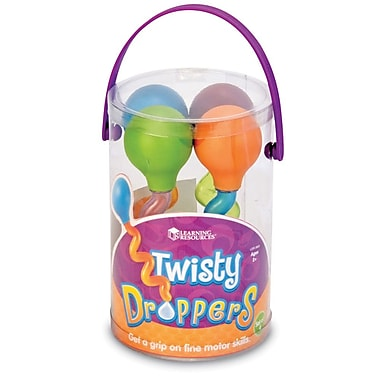 Learning Resources® Twisty Dropper, 4/Set