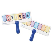 Learning Resources® Write & Wipe Place Value Answer Board, Grade 2+