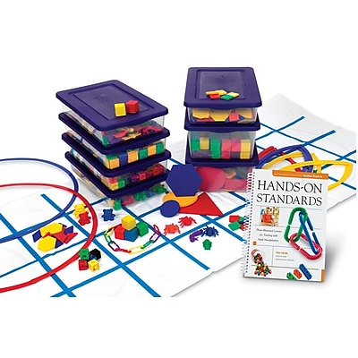 Learning Resources® Hands-On Standards® Book & Kit Bundle, Grades PreK - K