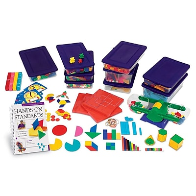 Learning Resources® Hands-On Standards® Book & Kit Bundle, Grades 3rd - 4th