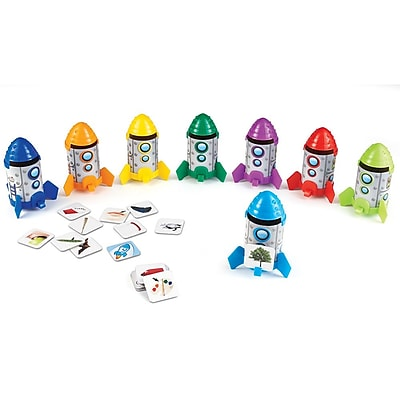 Learning Resources Rhyme and Sort Rockets 1235047
