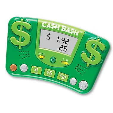 Learning Resources® Cash Bash® Electronic Flash Card, Grade 2 - 6